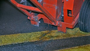 asphalt crack router